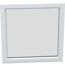 jednokrílové plastové okno SALAMANDER SL76: fixné  šírka: 1500 výška: 1400