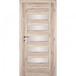 Interiérové dvere HEBA so sklom - PINIA
