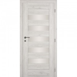 Interiérové dvere HEBA so sklom - SILVER