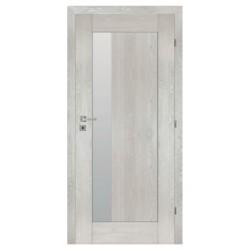 Interiérové dvere ZEUS so sklom - SILVER