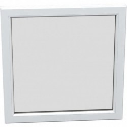Jednokrídlové plastové okno - fixné, šírka: 1500mm, výška: 1400mm