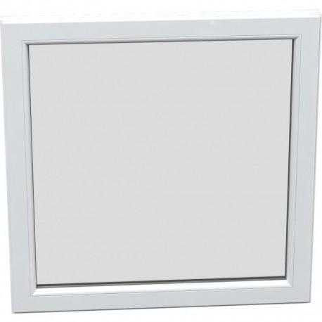 Jednokrídlové plastové okno - fixné, šírka: 1500mm, výška: 1500mm