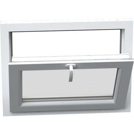 Jednokrídlové plastové okno - sklopné, šírka: 700mm, výška: 500mm