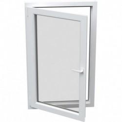 Jednokrídlové plastové okno - otváravo-sklopné, ĽAVÉ,šírka: 800mm, výška: 800mm