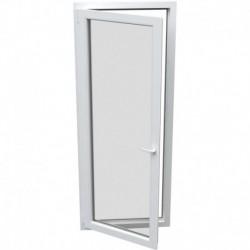 jednokrídlové plastové balkónové dvere Aluplast Effect: otváravo-sklopné ĽAVÉ  šírka: 800 výška: 2100