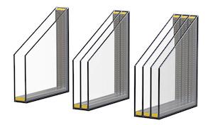 Plastové okná - izolačné sklo